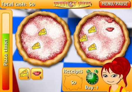 Giochi gratis online: Perfect Pizza, la pizzeria