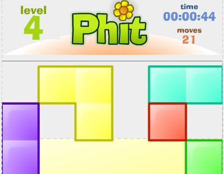 Giochi online: Phit, Tetris alternativo in flash
