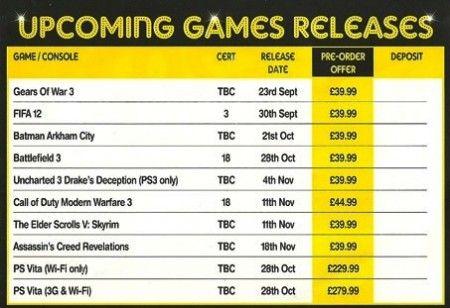 PlayStation Vita in Europa a Ottobre! Un volantino svela tutto!