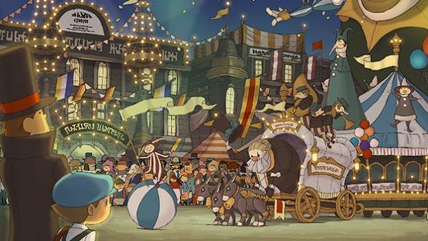 Professor Layton and The Mask of Miracle 3D sarà in Europa nel 2012