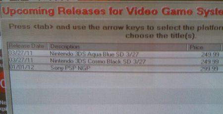 PSP 2: dettagli sulla possibile data di uscita e sul prezzo