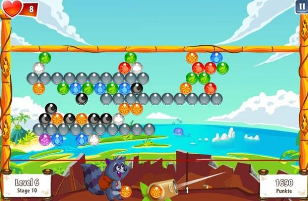Puzzle Bobble gratis anche su Facebook con Bubble Island