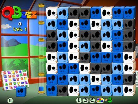 Giochi puzzle gratis online: QBeez, Blocchi Pazzi