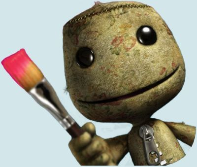 sack boy little big planet psp vita
