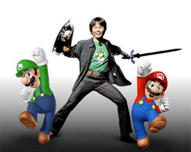 shigeru miyamoto nuovi personaggi