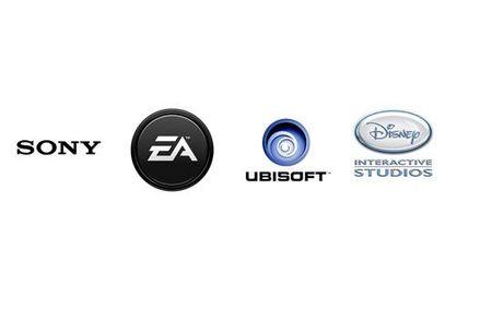 Sony Electronic Arts Ubisoft Disney