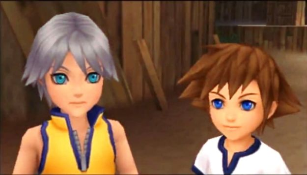 Kingdom Hearts Dream Drop Distance: Sora e Riku con spada e arco