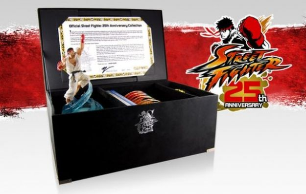 Street Fighter festeggia 25 anni con un&#8217;edizione speciale