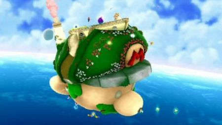 L'astronave di Mario in Super Mario Galaxy 2