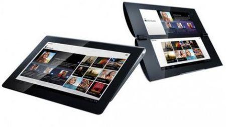I due tablet con Android Sony S e P in arrivo nei negozi