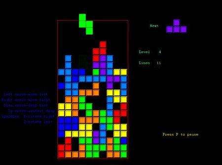 Tetris multiplayer