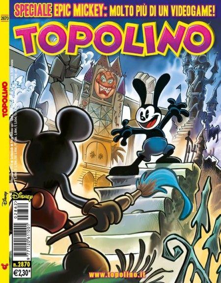 Epic Mickey: su Topolino la graphic novel del gioco