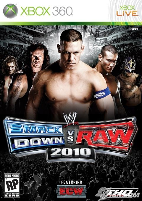 Cover Art WWE Smackdown Vs Raw 2010