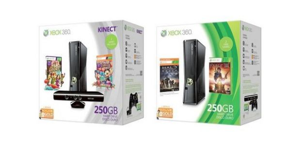 Xbox 360 in due bundle originali con Kinect e non solo