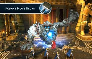 Thor The Dark World: uscita e download per iPhone e iPad [FOTO]