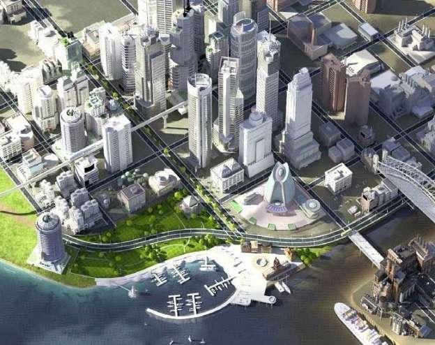 Le prime immagini del nuovo Sim City 5