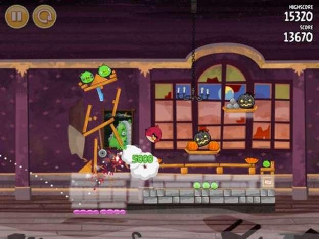 Angry Birds Seasons: aggiornamento di Halloween