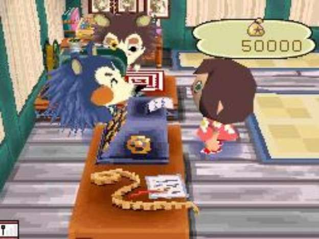 Animal Crossing Wild World: screenshots