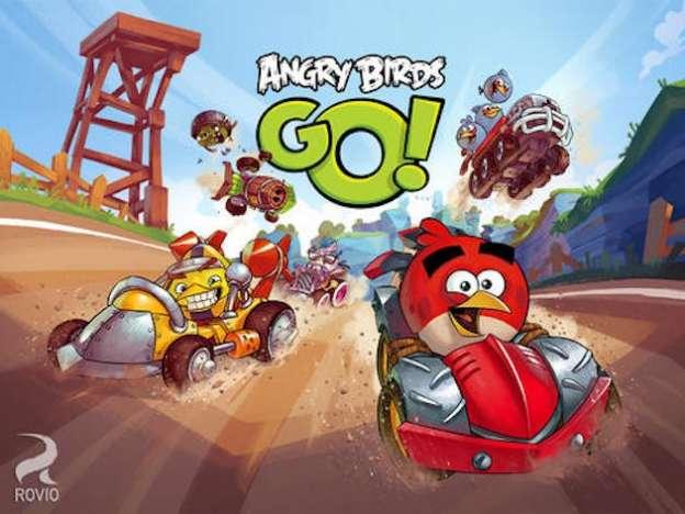 Angry Birds Go: immagini