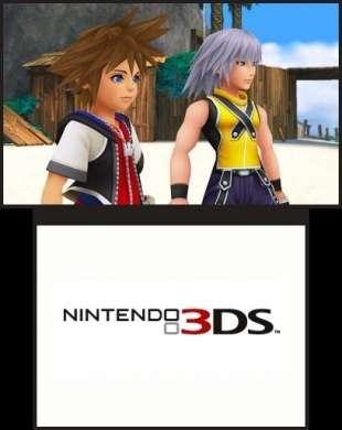 Prime immagini per Kingdom Hearts 3D