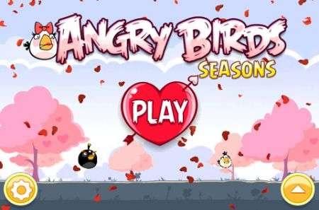 Angry Birds si veste di rosa per San Valentino