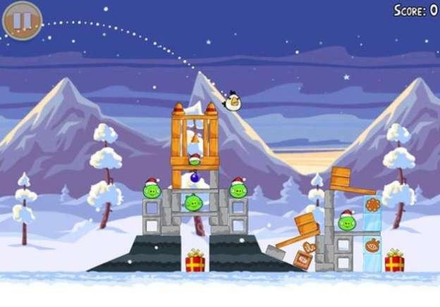 Angry Birds Seasons: le immagini della versione natalizia