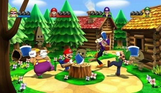 Mario Party 9: le immagini dei mini giochi
