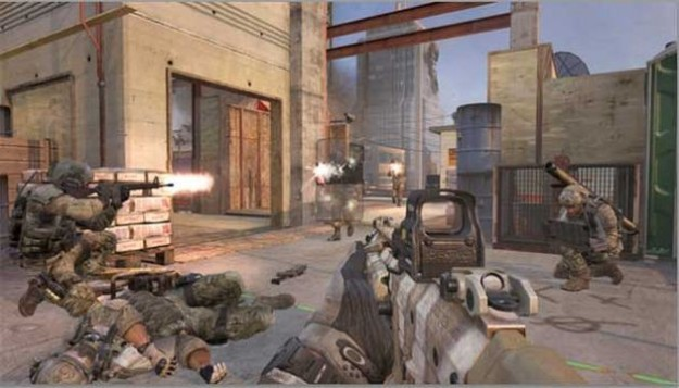 Call of Duty Modern Warfare 3: mappa