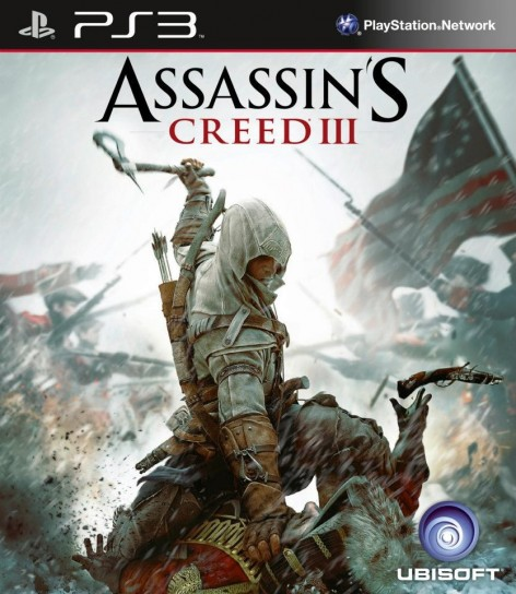 Assassin's Creed 3: cover PS3