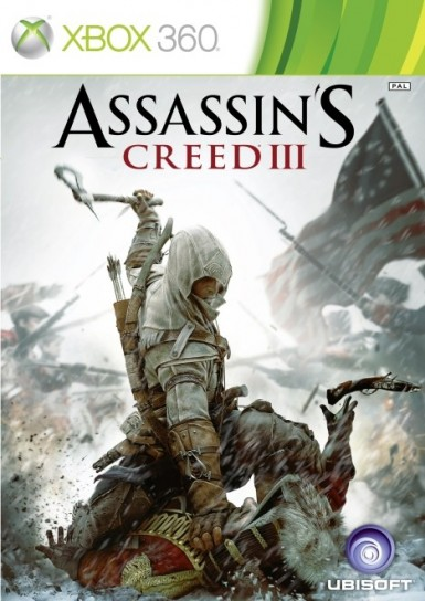 Assassin's Creed 3: cover Xbox 360
