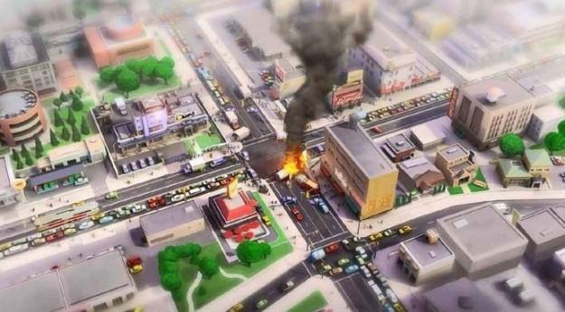 Sim City 5: incidente