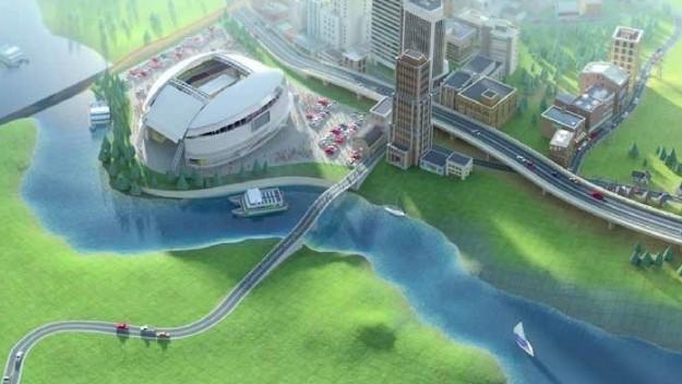 Sim City 5: stadio