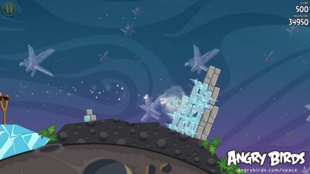 Angry Birds Space: pennuti