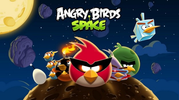 Angry Birds Space: spazio