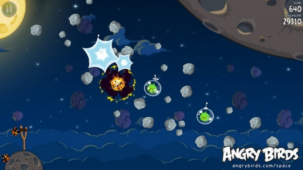 Angry Birds Space: immagini