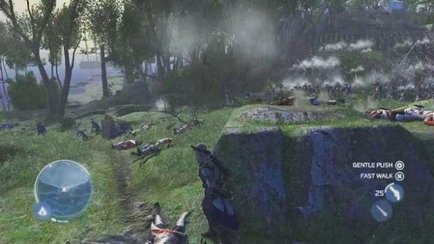 Assassin's Creed 3: battaglia