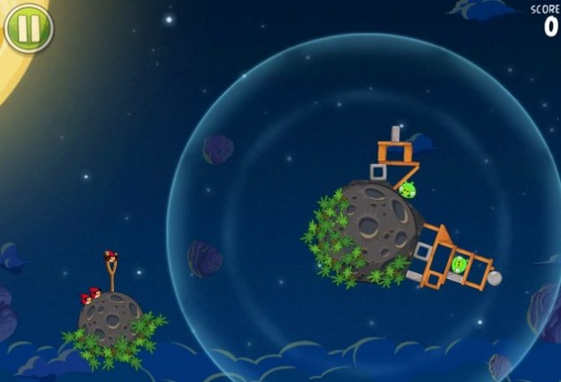 Angry Birds Space: livello