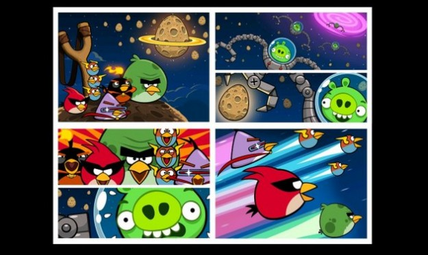 Angry Birds Space: introduzione