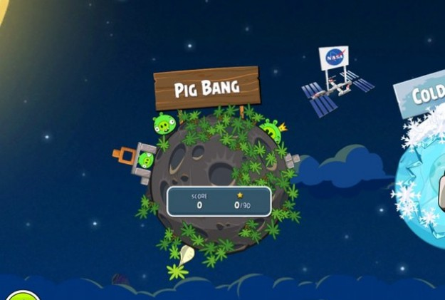 Angry Birds Space: gioco