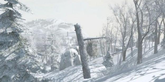 Assassin's Creed 3: immagini della foresta innevata