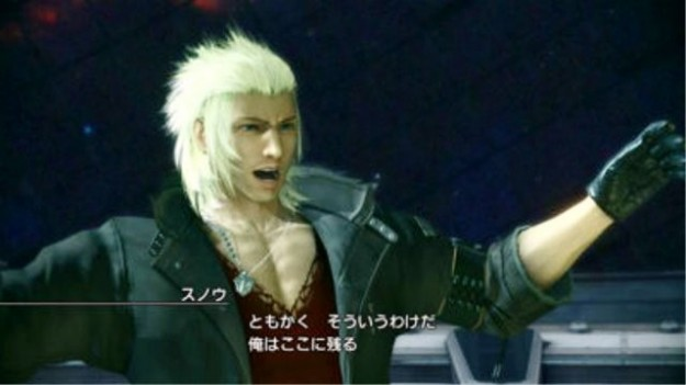 Snow in Final Fantasy XIII-2