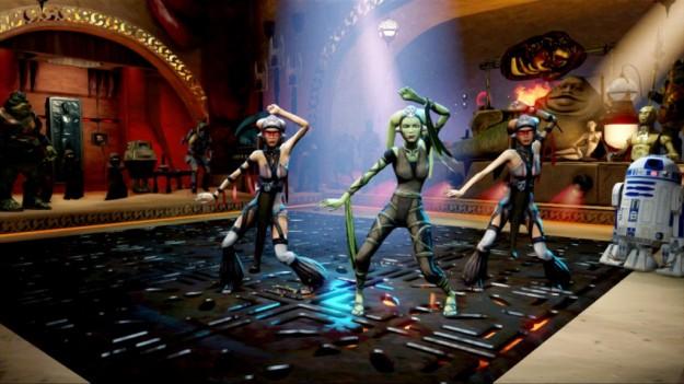 Kinect Star Wars: combattimenti