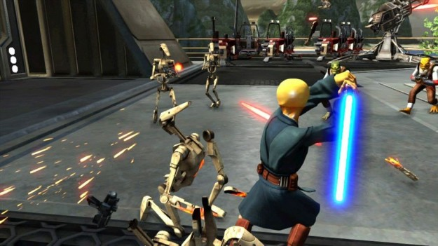 Kinect Star Wars su Xbox 360