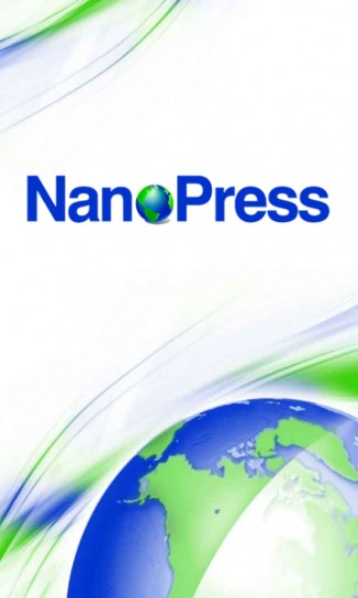 App Nanopress per Android: splashscreen
