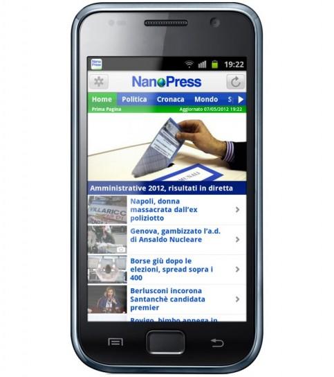 Nanopress su Android: tutte le news sui videogame sullo smartphone [FOTO]