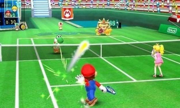 Mario Tennis Open: immagini del gioco sportivo