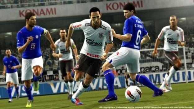 PES 2013: prime immagini del gioco di calcio