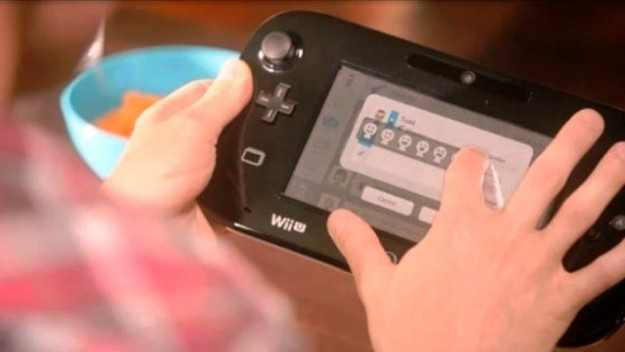 Versione black per Nintendo Wii U gamepad