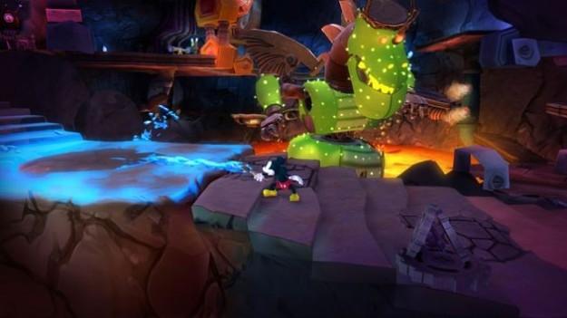 Epic Mickey 2: immagini di nuovi scenari