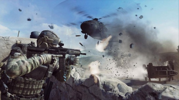 Tom Clancy's Ghost Recon Future Soldier: azione